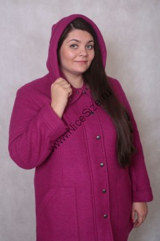 d704352742d Пальто 13645 6647 купить в Интернет-магазине женской одежды больших ...
